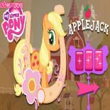 Сбор яблок на ферме Эпплджека