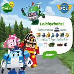 Робокар Поли: Лабиринт