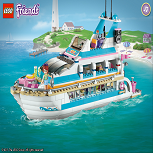 Лего Френдс» Водные Лыжи