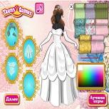 Золушка: Дизайн Платья Принцессы