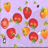 Китти Объезжает Овощи