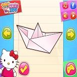 Оригами с Хелло Китти