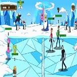 Игра Гамбол: Снежная Битва 2