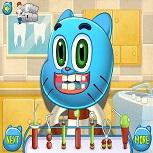 Игра Лечить Зубы Гамболу