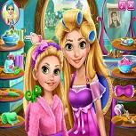 Макияж Рапунцель и её Дочери