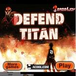 Аниме защита от титанов