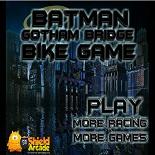 Бэтмен: Переправа через Готемский мост на мотоцикле