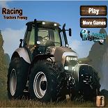 Безумная гонка тракторов