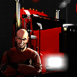 Безумный водитель грузовика 3
