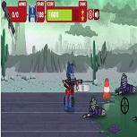 Трансформеры Против Зомби