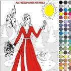 Раскраска: Принцесса