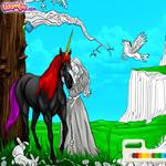 Раскраска Пони