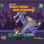 Двуглавый Робот Птерозавр