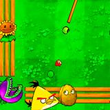 Angry Birds Бильярд