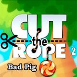Bad Piggies: Перережь Веревку