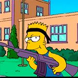 Барт Симпсон Рулит