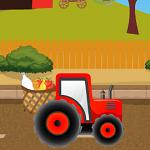 Фермерская доставка на тракторе