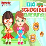 Эшлин Элла в Школьном Автобусе