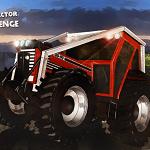 Гонка на тракторах с прицепом