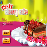 Готовим Еду: Вишневый Торт