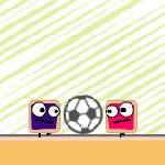 Матч квадратных футболистов