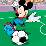 Футбол: Микки Маус