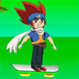 Наруто на Скейте