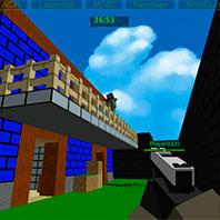 Пиксельная война героев