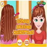Плетёные Причёски в Школу