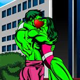 Поцелуи Халка