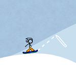 Прикольный сноуборд