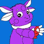 Раскраски с Лунтиком для детей 2-3 лет