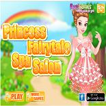 Сказочная Принцесса в Спа-салоне