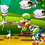 Соник и Марио Убийцы Зомби