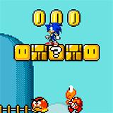 Соник в мире Марио