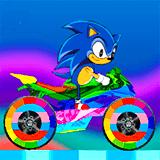 Разноцветный Мотоцикл: Соник