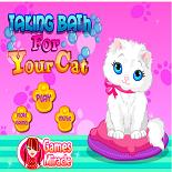 Уход за Животными: Ванна для Кошечки