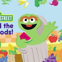 Герои улицы сезам - Найди фрукты