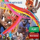 Зоотопия: Математическая викторина