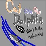 Кот и дельфин