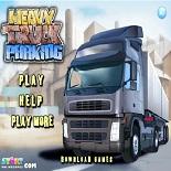Парковка тяжелого грузовика 3
