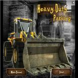 Парковка тяжелого трактора
