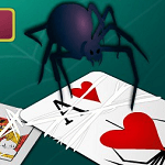 Пасьянс Паук — две масти — Spider Solitaire 2 suits