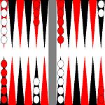 Простые нарды — Backgammon