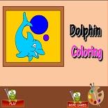 Раскраска дельфина