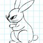 Нарисуй зайца