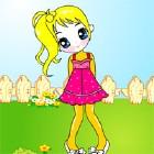Девчонка в саду