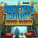 Университет Монстров: Спрятанные предметы