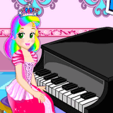 Урок Пианино с Принцессой