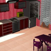 3D декорирование кухни